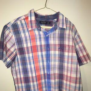 Nautica Short Sleeve Dress Shirt